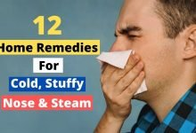 Photo of 12 Home Remedies for the Cold, Stuffy Nose & Steam