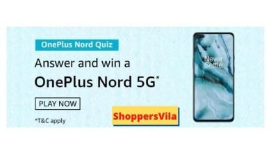 Photo of Amazon OnePlus Nord Quiz Answers – Win OnePlus Nord 5G