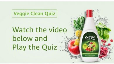 Photo of Amazon Veggie Clean Quiz Answers – Play & Win Rs.10,000