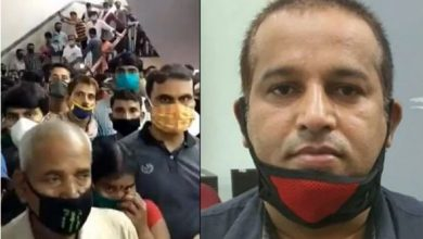 Photo of Bengaluru's Victoria Hospital: Viral Video Of Crowd is Fake, Say Police ; One Arrested