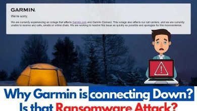 Photo of Why Garmin is connecting Down? Is that Ransomware Attack?