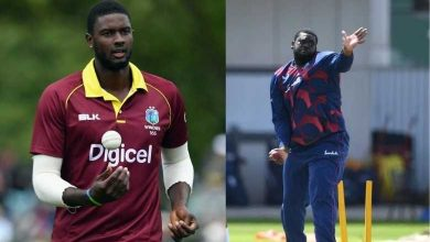"""Photo of Jason Holder believes, """"Rahkeem Cornwall can be the best spinner"""" of series"""