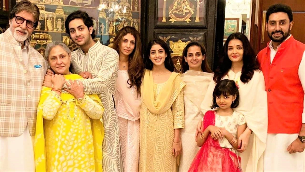 'Tears of happiness come' - Amitabh Bachchan on Aishwarya & Aaradhya being discharged from hospital