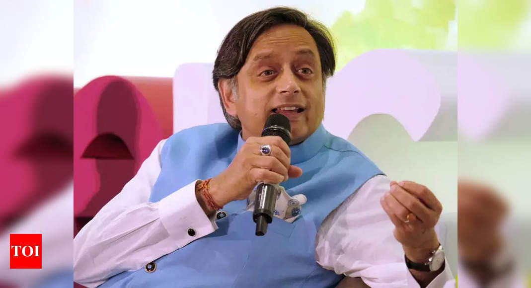 Unfair on Sonia, Congress must find full-term chief: Shashi Tharoor | India News
