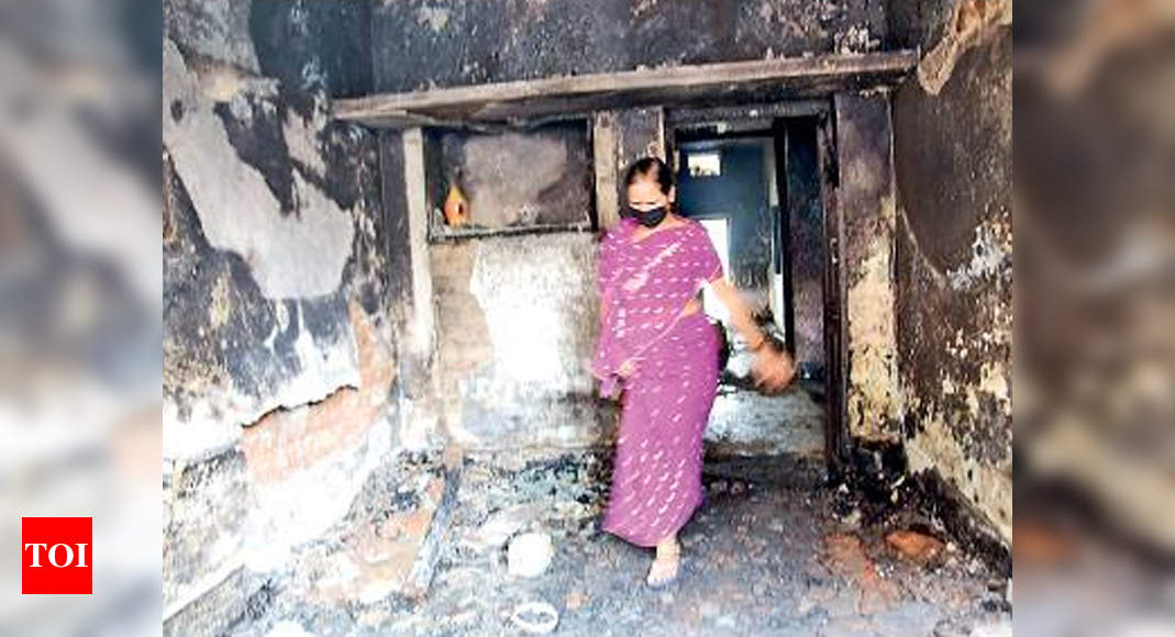Bengaluru violence: Family of 5 hid inside toilet for 3 hours to escape mob | Bengaluru News