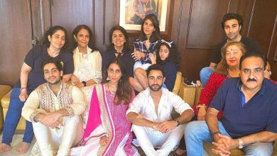 Photo of Neetu Kapoor, Riddhima be a part of Armaan Jain and household for Ganpati celebrations. See pics – bollywood