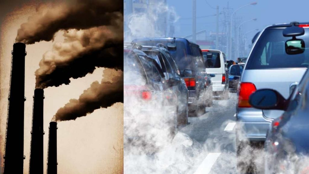 Air pollution is responsible to higher risk of asthma in young kids (PM2.5) (Traffic Jam, Air Pollution Risk)