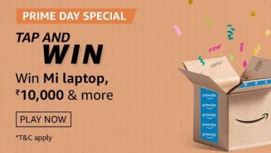 Photo of Amazon Prime Day Tap & Win Quiz Answers – Win MI Laptop, Fire TV stick & Amazon Pay balance