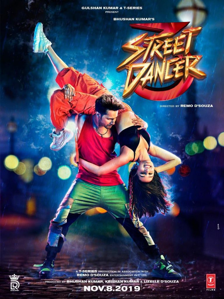 Download Street Dancer 3D Full Movie, Free Online Streaming & Download from Amazon Prime Videos, Leaked on Movierulz, Katmoviehd, Tamilrockers, Filmyzilla in HD 1080p, 720p, 480p, 320p Quality