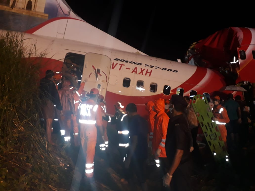 Dubai-Kozhikode Flight Crashes at Calicut's Tabletop Runway