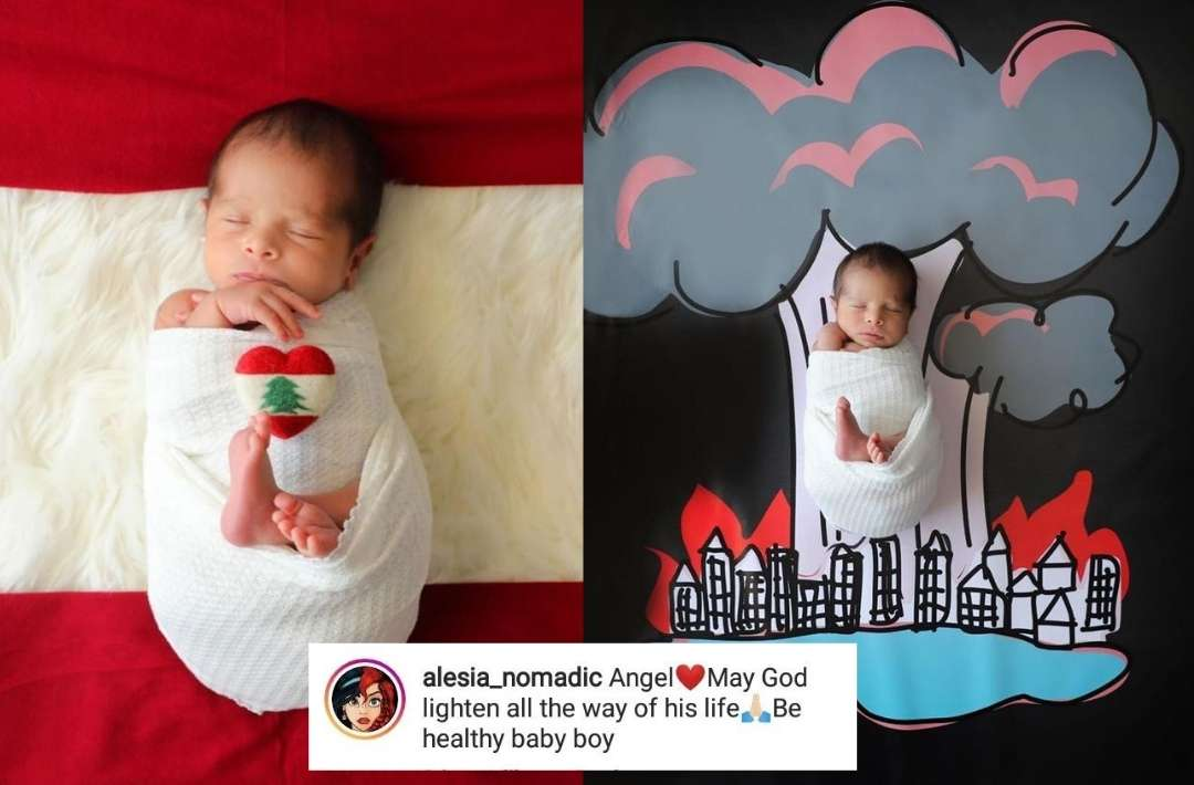 Heartwarming pics of Beirut's 'miracle baby' George take social media by storm