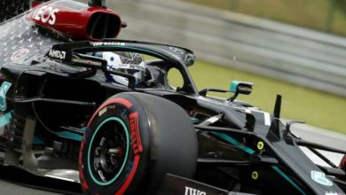 Photo of Valtteri Bottas leads 1st follow for the Belgian Grand Prix, Lewis Hamilton 2nd