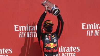 Photo of Max Verstappen storms to unlikely victory in 70th Anniversary Grand Prix