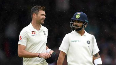 Photo of ENG vs PAK | The most effective bowlers I've confronted: Virat Kohli congratulates James Anderson on reaching 600 Check wickets