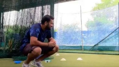 Photo of 'Up and operating with Mumbai Indians': Rohit Sharma shares video from coaching session