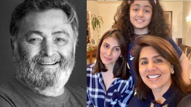 Photo of Neetu Kapoor misses Rishi Kapoor as she shares pic with Riddhima and Samara, right here's what she wrote – bollywood