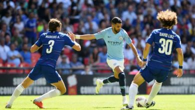 Photo of Manchester Metropolis's Aymeric Laporte and Riyad Mahrez take a look at constructive for COVID-19