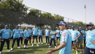 Photo of IPL 2020 | Ricky Ponting conducts first coaching session with Delhi Capitals after finishing quarantine