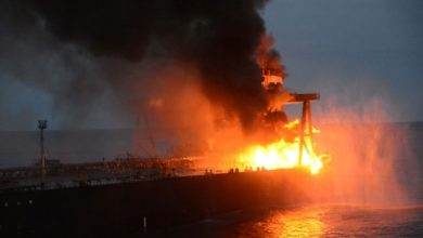 Photo of Sri Lanka Navy Says No Actual Threat Of Spill After Oil Tanker Hearth