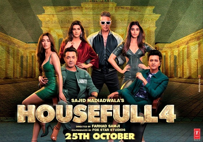 Housefull 4 Full Movie Download From Filmyzilla, Tamilrockers, Movierulz, Katmoviehd, Filmywap, HDMovieshub, Bestwap, Mp4moviez, Pagalworld, 123mkv, openload, some telegram group, google drive download link and other torrent sites