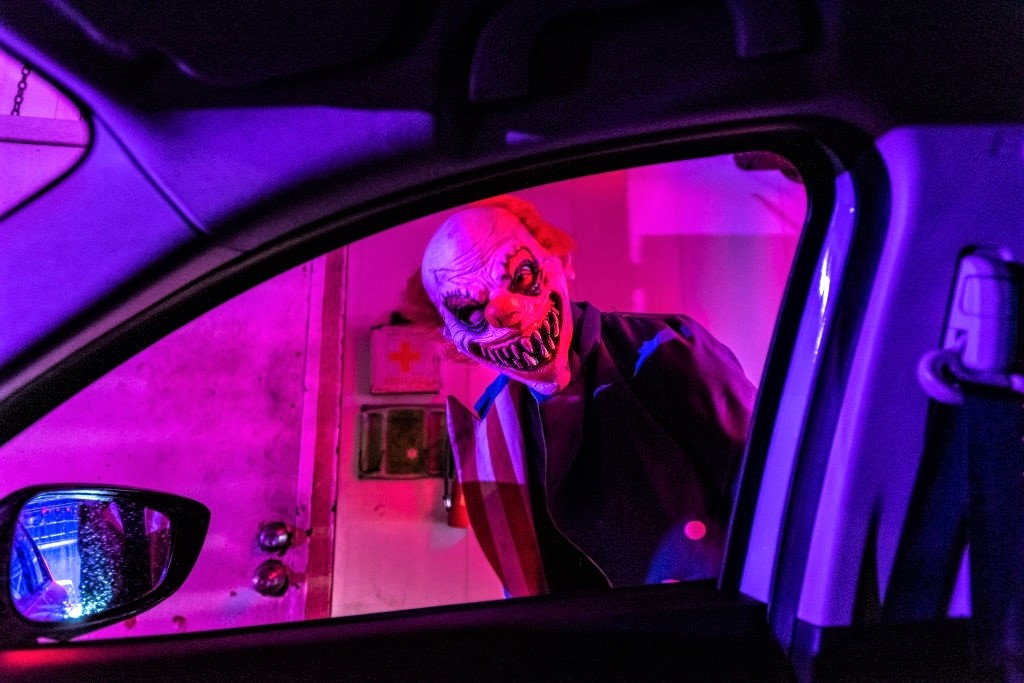 What is a haunted car wash - Halloween Photo / Images