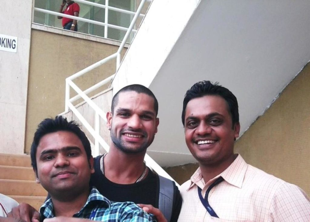 Old Rarest Pictures of Shikhar Dhawan