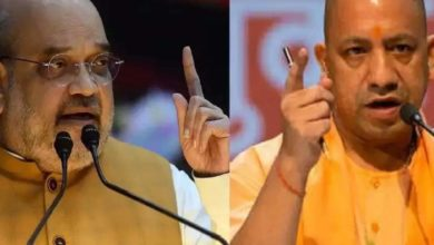 Photo of Yogi Adityanath and Amit Shah threatened to bomb suicide attack to kill Amit Shah and Yogi