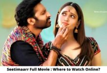 Photo of Seetimaarr Full Movie : Where to Watch Online for Free?